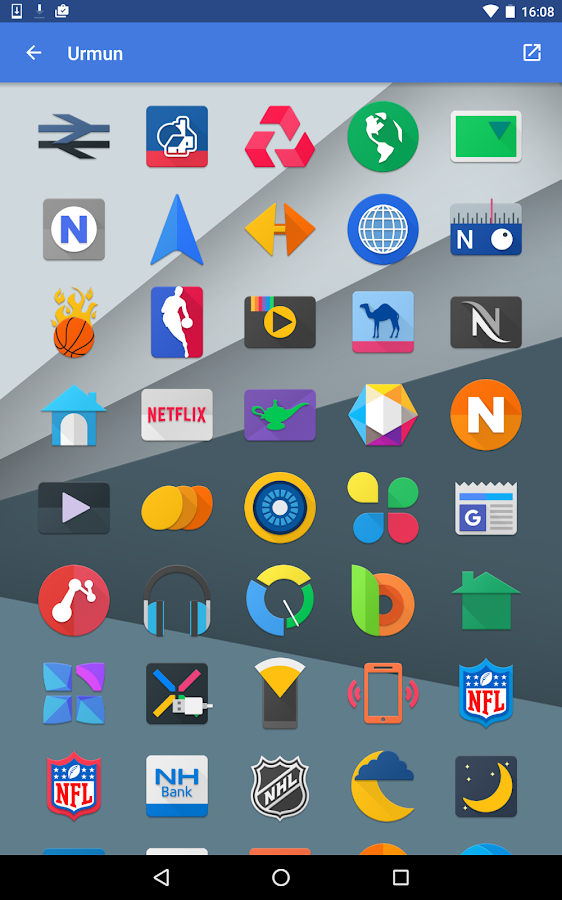 Urmun - Icon Pack Screenshot 15