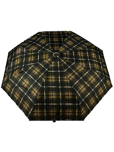 """Зонт """"Компакт S"""", коричневно-желтый"""