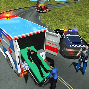 Ambulance Rescue Missions Police Car Driving Games For PC (Windows & MAC)