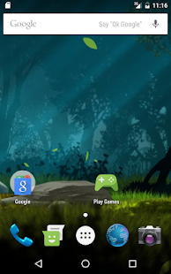 Magical forest live wallpaper- screenshot thumbnail