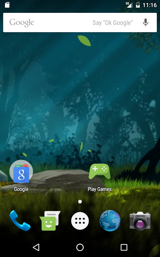 Magical forest live wallpaper Screenshot 8