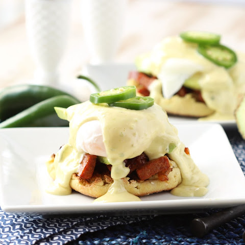 Southwestern Eggs Benedict with Jalapeño Hollandaise
