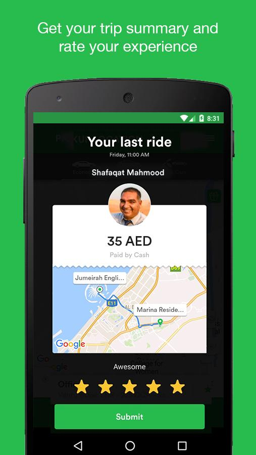 Careem - Car Booking App Screenshot 4