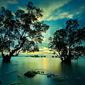 Island Paradise, Semporna by Suhaili Pesona - Landscapes Sunsets & Sunrises ( island )