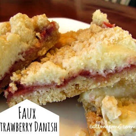 Faux Strawberry Danish