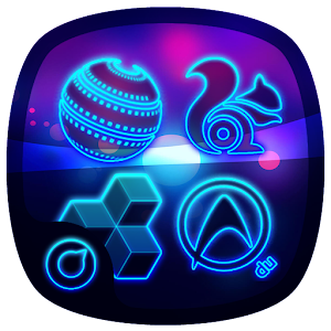 Neon Life Icon Pack | Theme APK for Blackberry