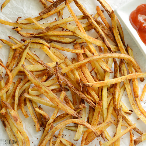 Smoky Garlic Oven Fries
