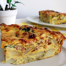 Sky-High Breakfast Frittata