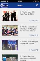 Screenshot of S P Setia