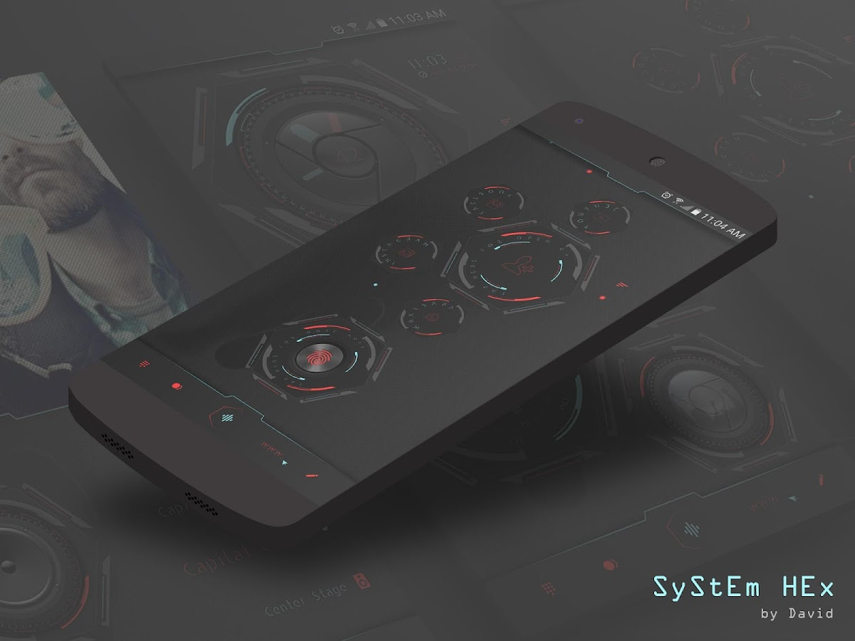 SyStEm HEx for KLWP Screenshot 3