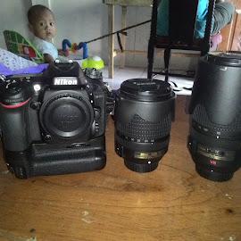 Nikon Gear D7100 by Sartika Nominanda Tarigan - Artistic Objects Technology Objects ( nikon gear,  )