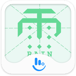 Download Chinese Character Rain Theme For PC Windows and Mac