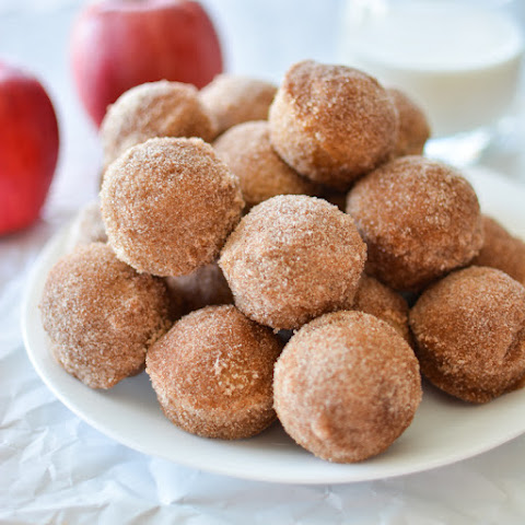 Apple Cider Baked Donut Holes