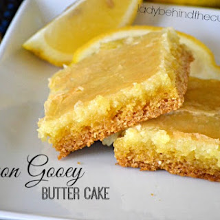 Gooey Butter Cake With Lemon Cake Recipes