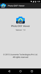 Photo EXIF Viewer - screenshot