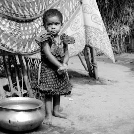 Innocent looks.... by S Banerjee - Babies & Children Children Candids (  )