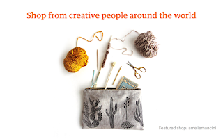 Screenshot of Etsy: Handmade & Vintage Goods