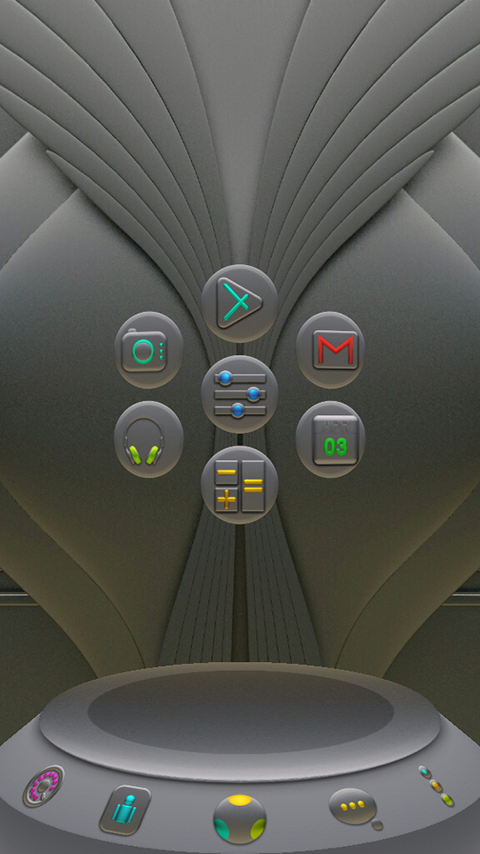 NANO Next Launcher 3D Theme Screenshot 2