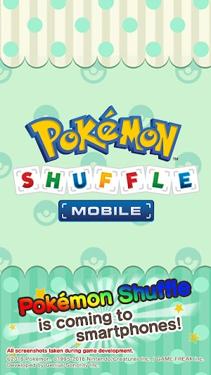 Pokémon Shuffle Mobile      4.1 and up     app screenshot