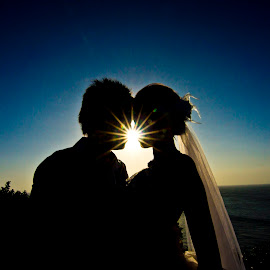 The Kiss of Sun~ by Gray Tow - Wedding Other ( kiss, wedding, marriage, bride, groom )