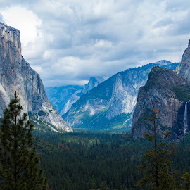 Welcome to the Yosemite by Andrew Jouffray - Landscapes Mountains & Hills