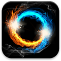 App Fire & Ice Live Wallpaper apk for kindle fire