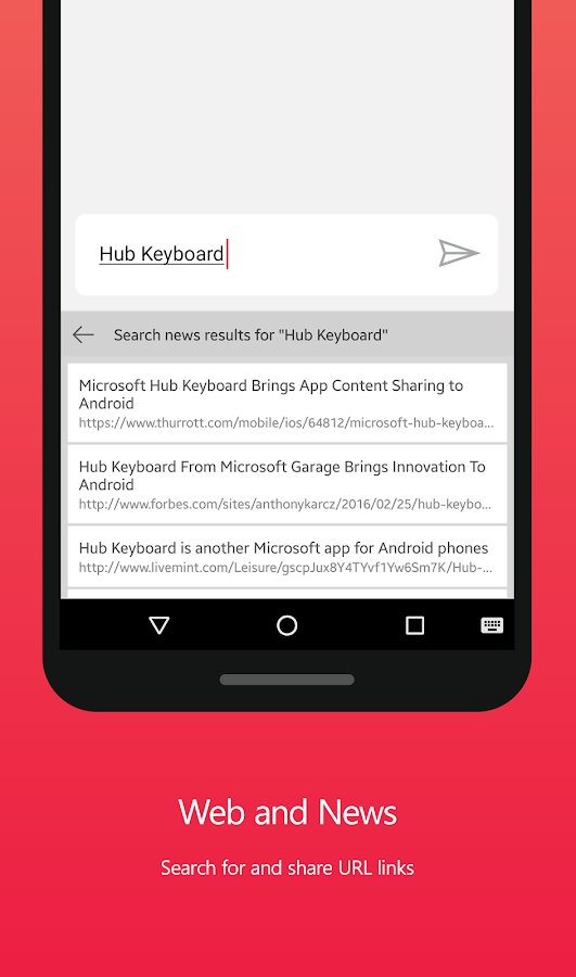 Hub Keyboard, Preview Screenshot 7