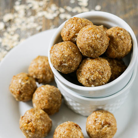 Tropical Mango Coconut Energy Balls