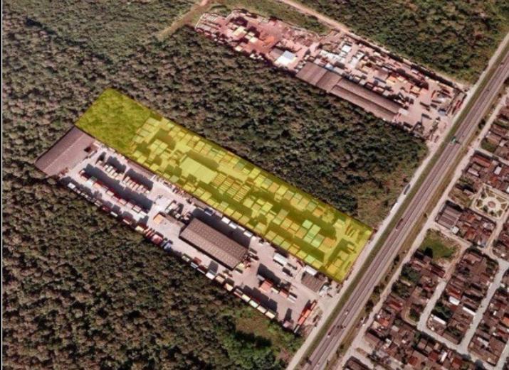 Área comercial à venda, Vila Áurea (Vicente de Carvalho), Gu