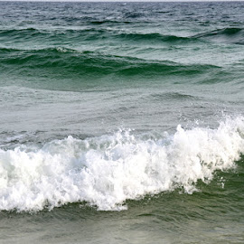 Great Waves by Kayla House - Landscapes Beaches ( water, waves, calming, ocean, beach, relaxing, sun, beaches, vacation, great, sunny, florida, summer )