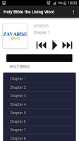 Screenshot of Holy Bible the Living Word MP3