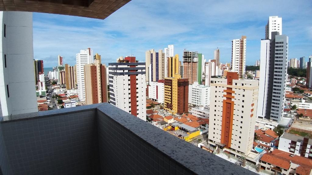 Flat Mobiliado com 1 dormitório à venda, 22 m² por R$ 189.900 - Manaíra - João Pessoa/PB