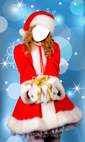android Christmas Dress Photo Montage Screenshot 3