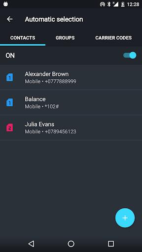 Dual SIM Selector Pro - screenshot