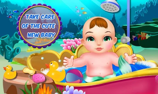 Mermaid Princess Fantasy Baby- screenshot thumbnail
