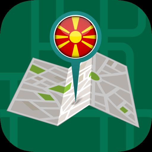 Android aplikacija ��️Offline Maps & Navigation by GPS: Macedonia na Android Srbija