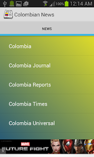 Colombian News - screenshot