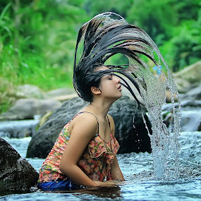 by Ilham Ramadhan - People Portraits of Women