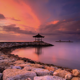 burn it by I Made  Sukarnawan - Landscapes Sunsets & Sunrises ( clouds, sunset, beach, sunrise, landscape )