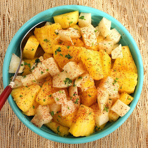 Pineapple and Jicama Salad