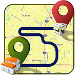 GPS Route Finder & Tracker Icon
