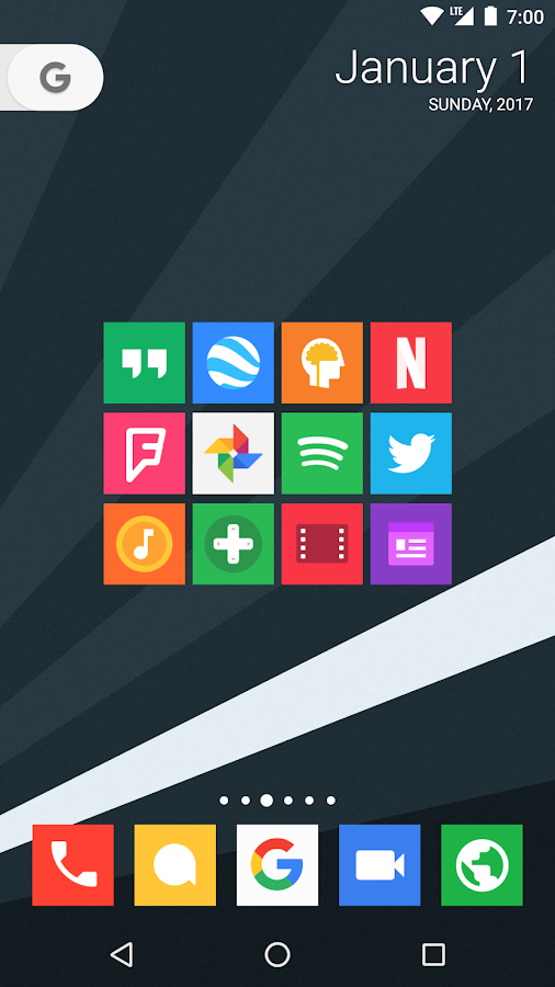 Minimal UI - Icon Pack Screenshot 5