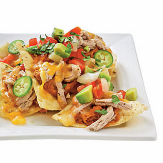 Pork and Pinto Bean Nachos