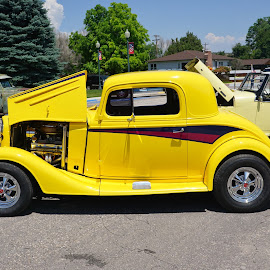 Not a Lemon by Jim Czech - Transportation Automobiles ( car, automobile, cars, car show, custom car )