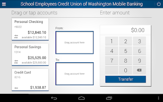 Screenshot of School Employees Credit Union