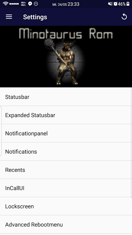 Minotaurus S8 Rom Control V6.1 android apps download