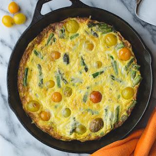 Asparagus Tomato Frittata Recipes