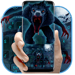 Bloody WereWolf Horror Keyboard Theme Icon