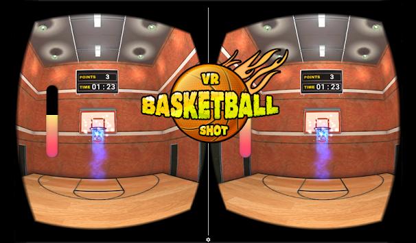 VR Basketball Shoot 3D apk screenshot
