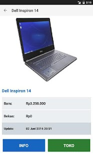 Harga Laptop Screenshot